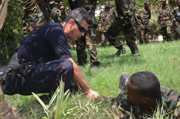 Carabinieri italiani addestrano la polizia somala