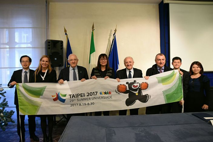 UNIVERSIADI 2019, DELEGAZIONE DI TAIPEI IN REGIONE