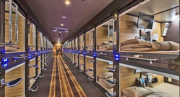 Bed&Boarding: Nasce a Napoli il primo capsule hotel d'Italia