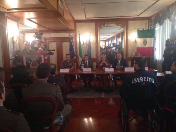 "Riconoscimenti ""Caduti di Nassiriya"", militari premiati al Consiglio Regionale Campania"