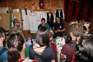 """Donazione di materiali di merceria per le future """"sarte"""" di Goraždevac (Kosovo)"""