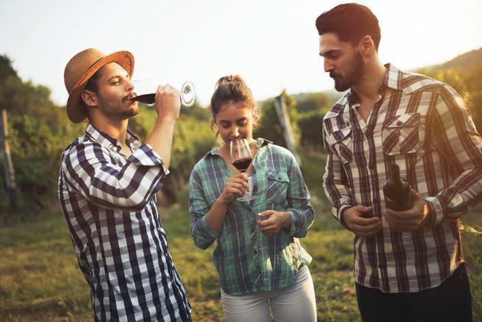 l mercato del vino nella distribuzione moderna tra gennaio e Pasqua