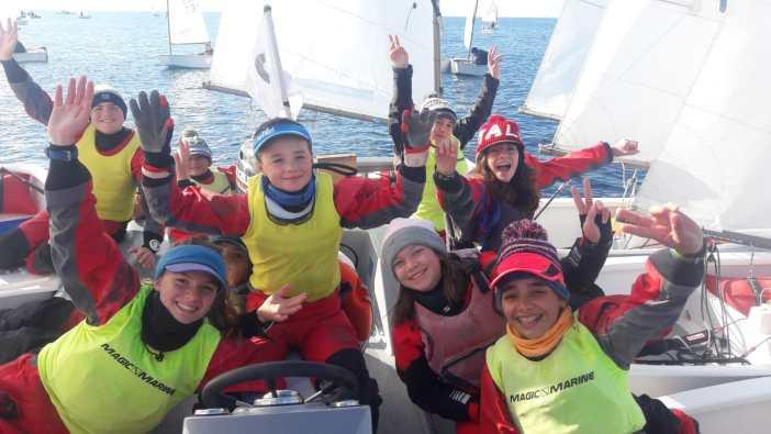 Il team della Scuola Vela Mankin ancora sul podio