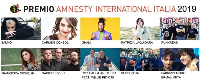 Quale sarà la miglior canzone italiana sui diritti umani?