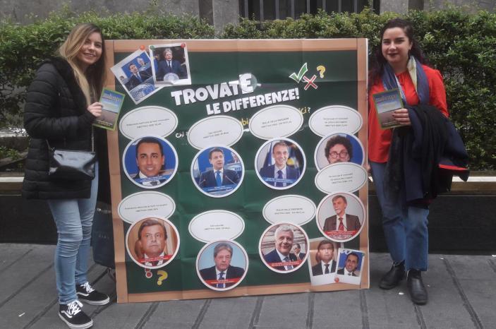 Greenpeace in 20 piazze italiane contro il governo Conte