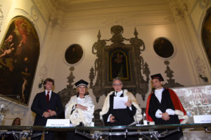 Laurea honoris causa ad Alberto Angela