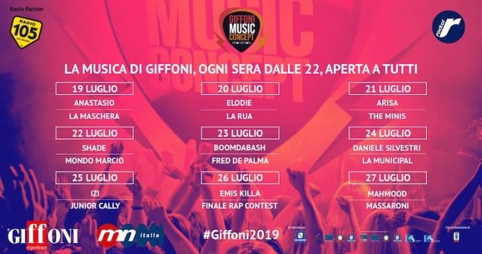 Al via Giffoni Music Concept