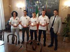 Le medaglie venete ai mondiali di Karate ricevute in Regione