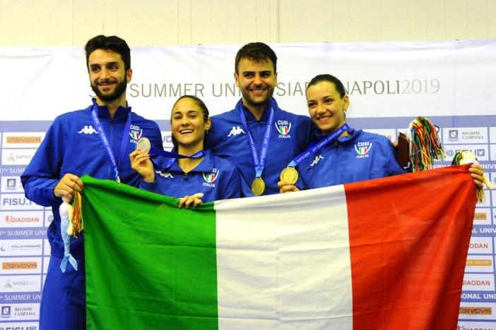 Universiade, doppietta italiana nella scherma