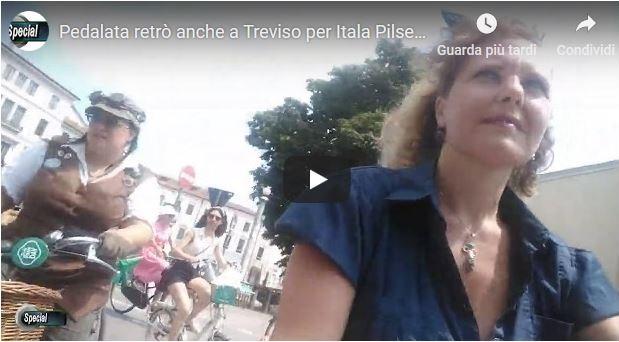 Pedalata retrò anche a Treviso per Itala Pilsen day