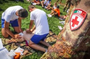 Primo soccorso nello sport giovanile per i soldati italiani in missione in Kosovo.