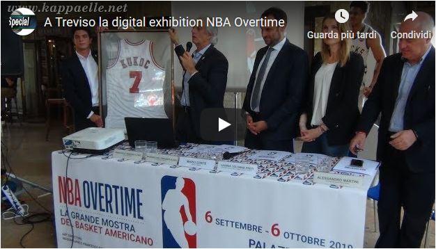 A Treviso l'esclusiva mostra digitale sul basket americano