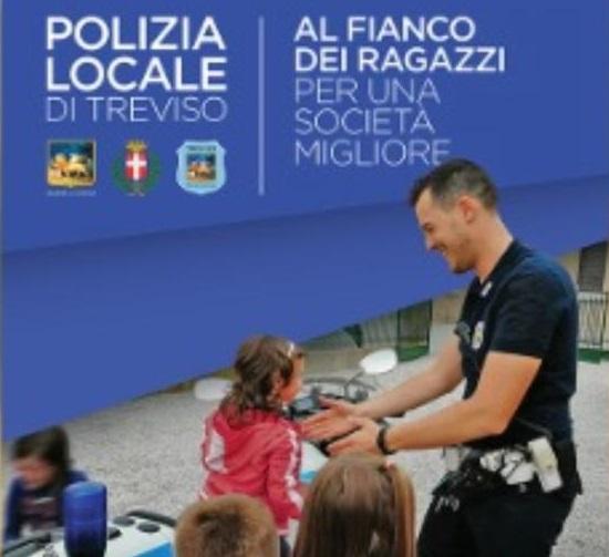 La Polizia locale di Treviso al fianco dei suoi cittadini