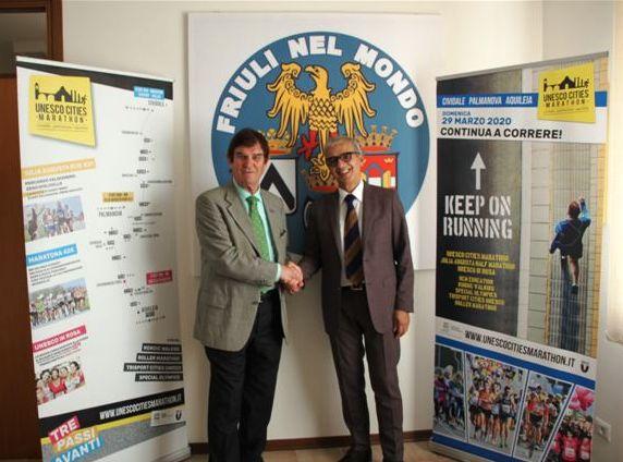 """""""Friuli nel mondo"""" corre con l'Unesco Cities Marathon"""