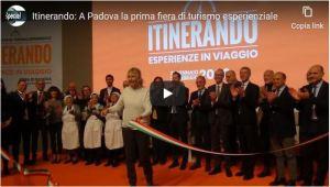 Itinerando: A Padova la prima fiera di turismo esprienziale