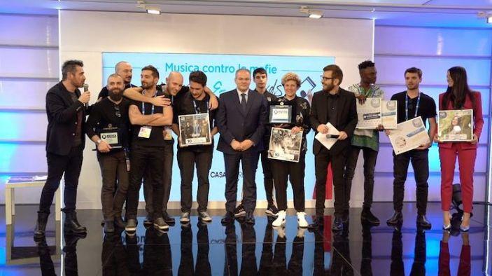 """A Casa Sanremo consegnato il Premio """"Musica contro le mafie"""""""