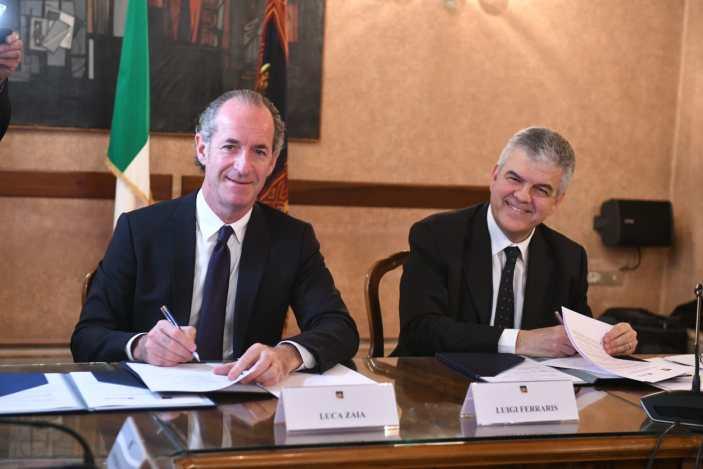 Veneto, siglato accordo con Terna per il monitoraggio ambientale
