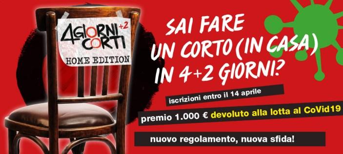 """Per il Covid 19 """"Nonantola Film Festival"""" diventa """"4 Giorni Corti+2 Home Edition"""", iscrizioni aperte"""