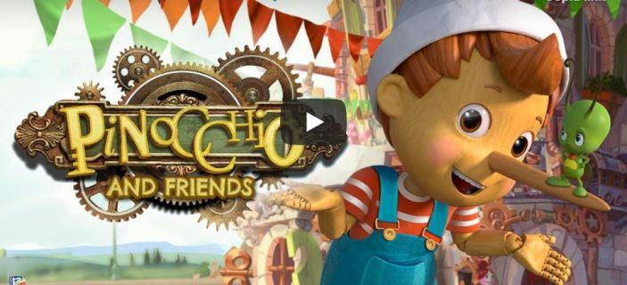 Pinocchio diventa una serie tv Rainbow