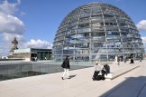 Auf dem Dach des Reichstages
