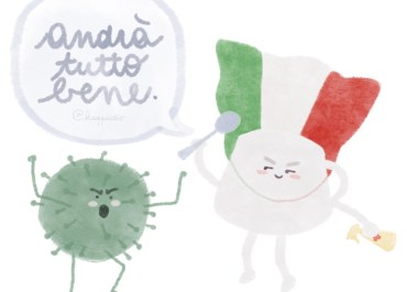 Il popolo italiano riunito dal COVID19: l'Italia, forse, s'è desta
