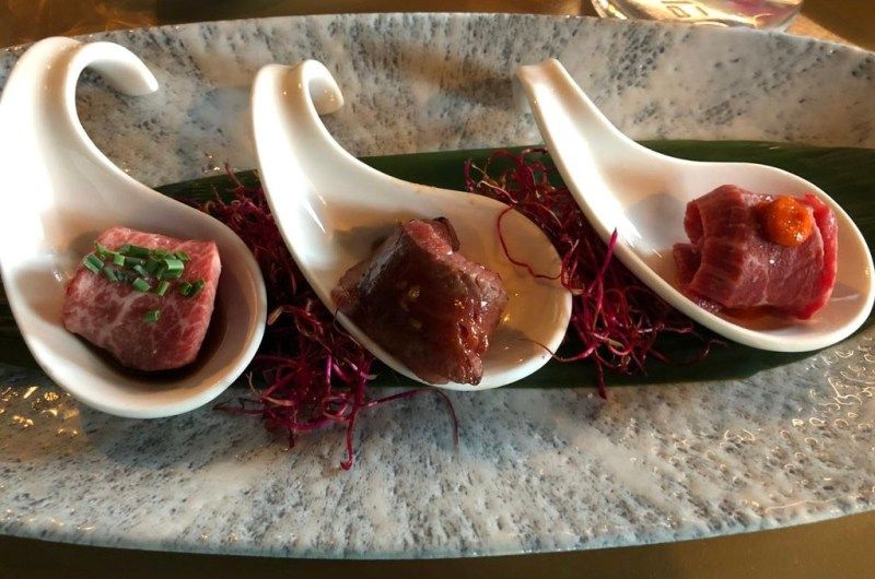 Magnaki sushi di carne