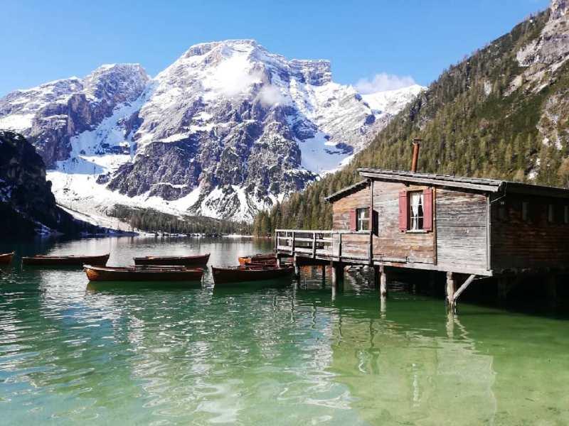 Città italiane romantiche: Lago di Braies