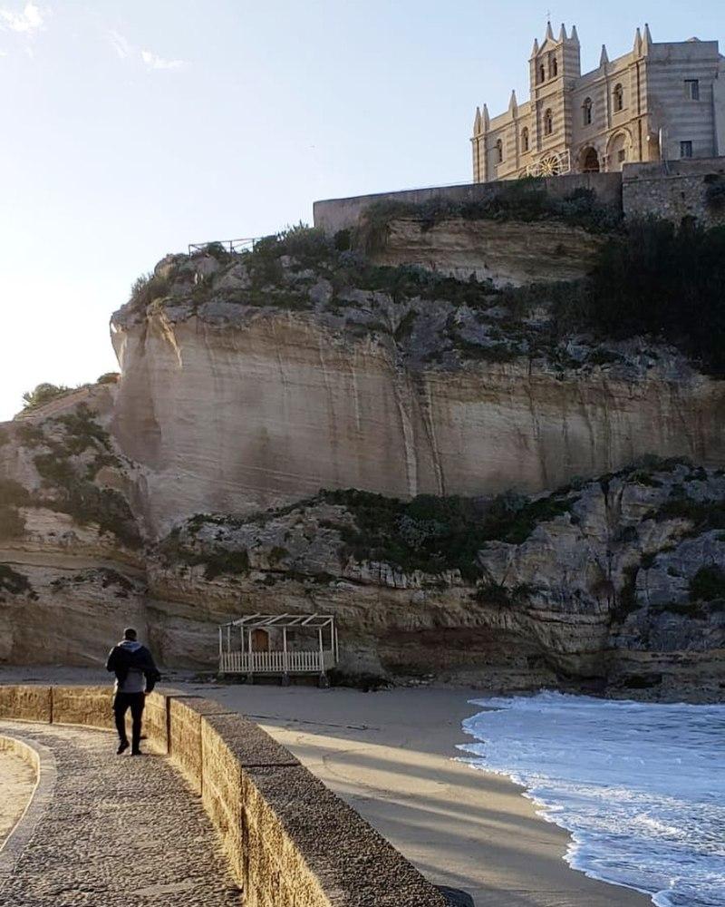 Spiagge costa tirrenica: spiaggia del Convento