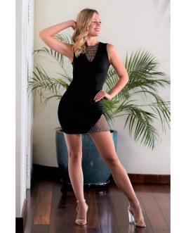 Vestido corto ajustado 0608