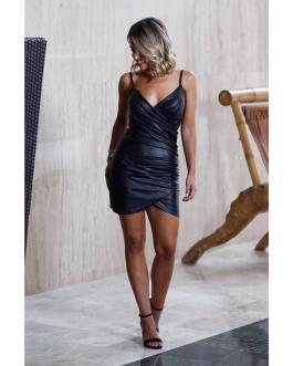 Vestido corto ajustado 0809