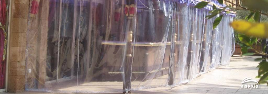 transparent outdoor curtains from kaprix