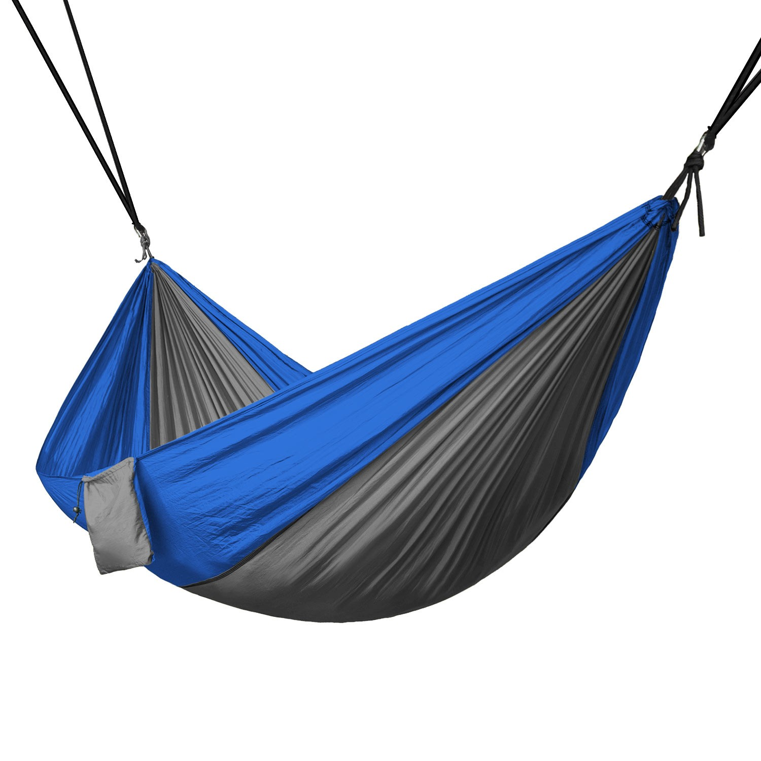 Portable 2 Person Hammock Rope Hanging Swing Fabric