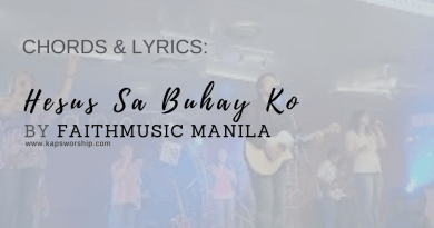 hesus-sa-buhay-ko-chords-faithmusic-manila