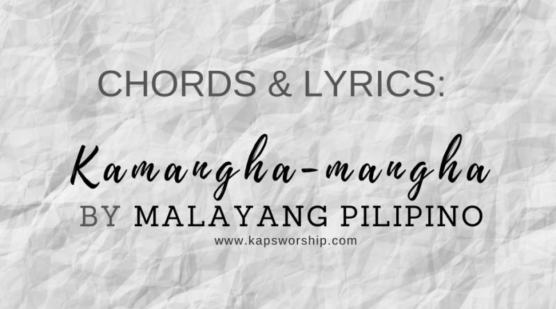 kamangha-mangha chords