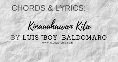 kinauuhawan kita chords and lyrics by luis boy baldomaro