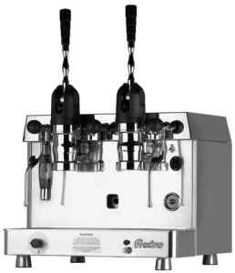 fracino retro coffee machine
