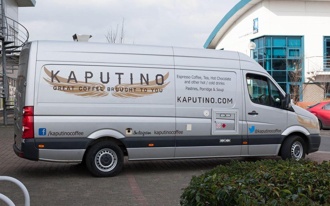Kaputino® Coffee Van available for Hire