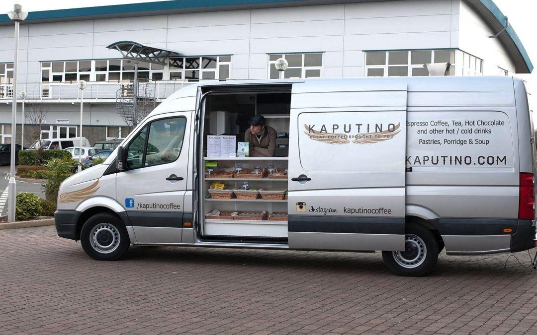 Kaputino® Coffee Van latest weekly round