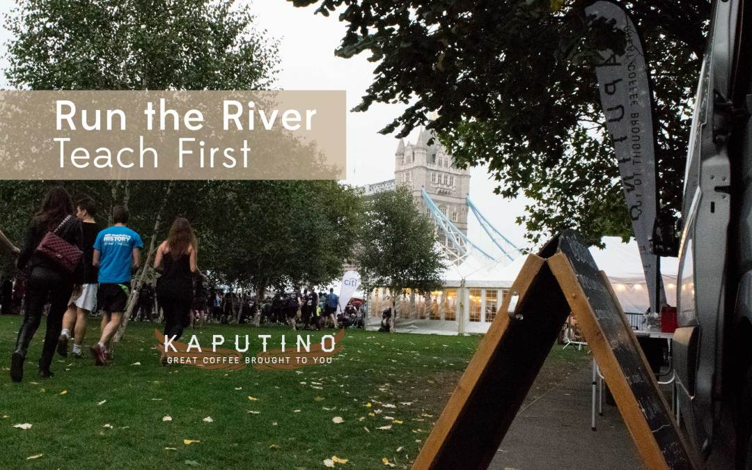 Run the River 2014 from Teach First with Kaputino Coffee Van