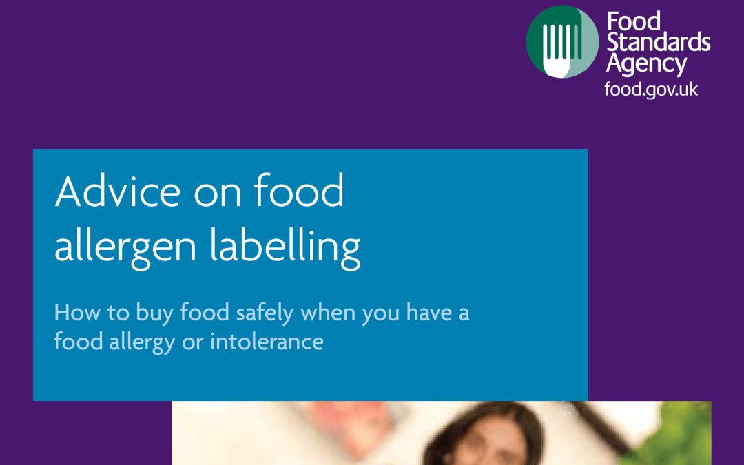 Food alergen labelling rules to change: from 13 December 2014