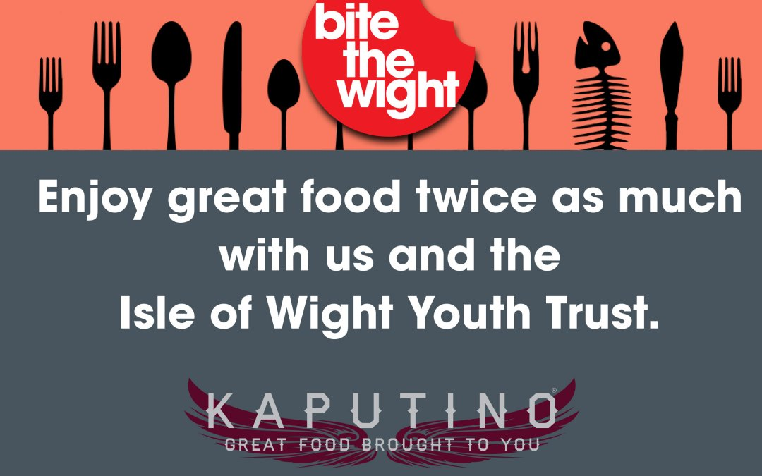 Bite the Wight 2014 with Kaputino Bite the Wight sandwiches