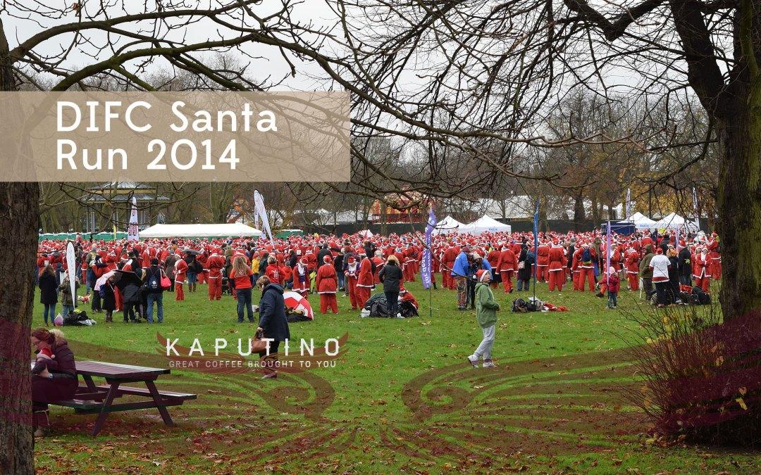 DIFC Santa Run 2014, Victoria Park, London