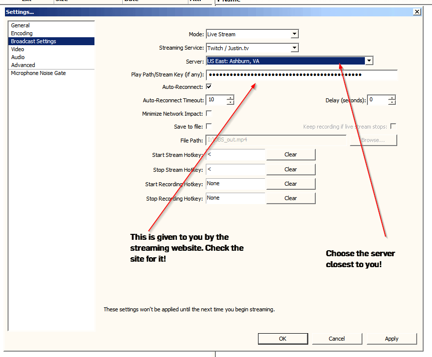 Encoding Lag Obs