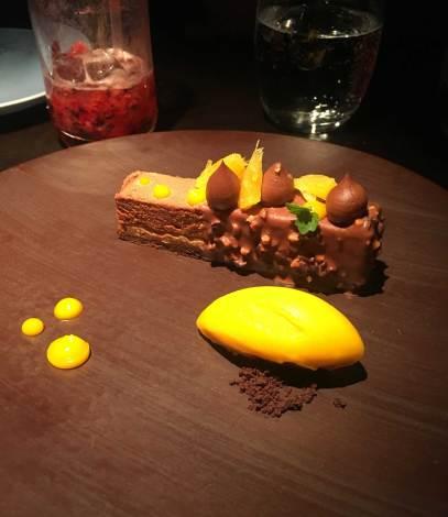 when dessert is a work of art - Hakkasan London