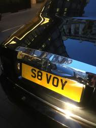 A Rolls-Royce outside the Savoy