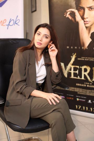 Mahira Khan promoting Verna
