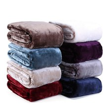Plush Throws in various colours