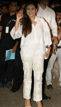 Rani Mukherjee's look for the Sangeet