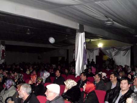Eskişehir Samanyolu Ümit İlköğretim okulunda gösterimiz