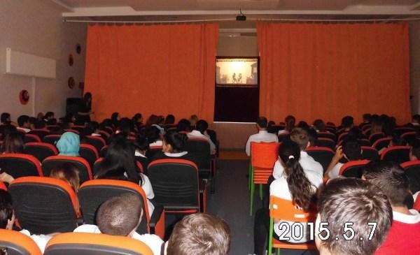 İzmir Gaziemir'de bir gösterimiz